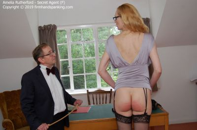 FirmHandSpanking - Amelia Rutherford - Secret Agent - F