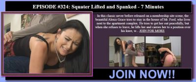 MySpankingRoommate - Episode 324: Squater Lifted and Spanked