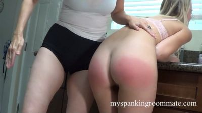 MySpankingRoommate - Episode 323: Riley Anne Spanked For Bad Cooking