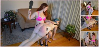 SpankingSororityGirls – Episode 209: Maddy Spanks Lux For Math Help