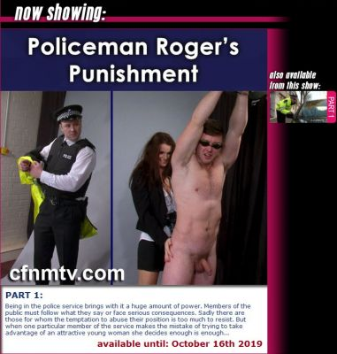 CfnmTV – Policeman Roge'rs Punishment Part 1