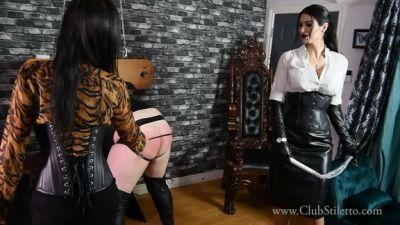 Clubstiletto – Ass Annihilation by Miss Jasmine and Mistress Damazonia