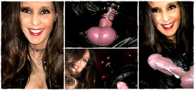 DominatrixAnnabelle – Leather Cock Torment!