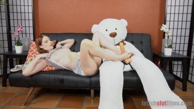 Hot Redhead Alex Harper Gives Bob A Slow Sexy Footjob