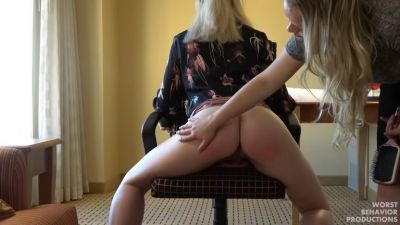 Boss Gives Wet Panty and Penalty Swats Part Two