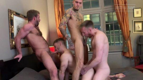 JFF - Leander, Gabriel Cross, Leo Rex, Gabriel Phoenix & Diggory