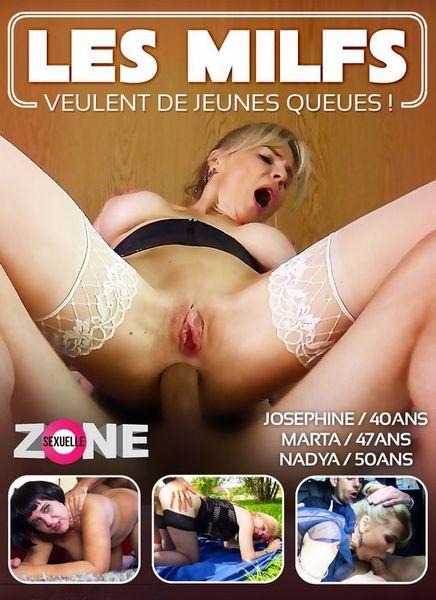 Les Milfs Veulent De Jeunes Queues - Milfs Want Young Tals (2019 / HD Rip 720p)