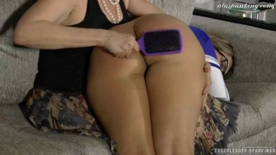 Cheerleaderspankings - Red's Foul Mouth
