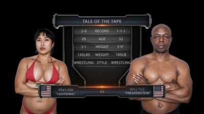 EvolvedFights – Mia Little, Will Tile