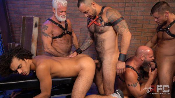 RFC - Dereks Leather Daddy Gang Bang - Part 1