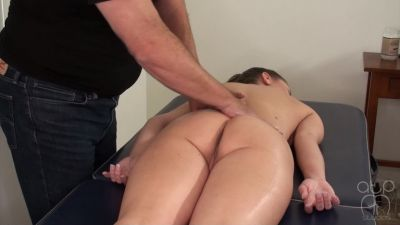 Hot Oil Nude Spanking Massage - Chrissy Marie