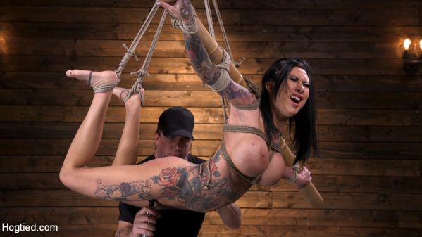 Lily Lane - Tattooed Slut Brutalized in Bondage and has Squirting Orgasms (2019 / HD 720p)