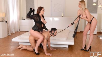 DDFNetwork - October 1, 2019 - Emma Louise Johnston, Lexi Lowe, Mugur