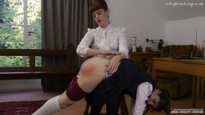 SarahGregorySpanking – The English Tutor