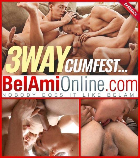 BA - 3-Way Cumfest - Bobby Noiret, Rick Lautner & Tom Pollock