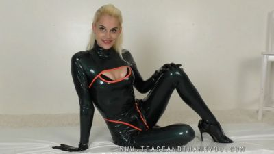 Tease and Thank You, 2019-10-02 – Latex Chastity Chat Part 2