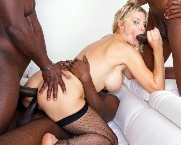 LegalP0rno: Nadya Basinger - Nadya Basinger enjoys black cocks and black champagne IV360 (HD/720p)