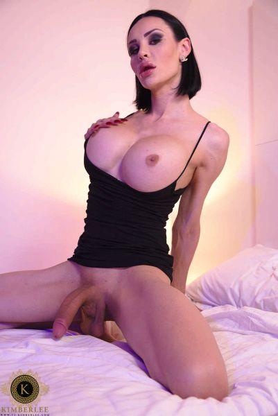 Kimber Lee - Purple Bed Cock Play (Ts-Kimberlee.com/FullHD/2019)