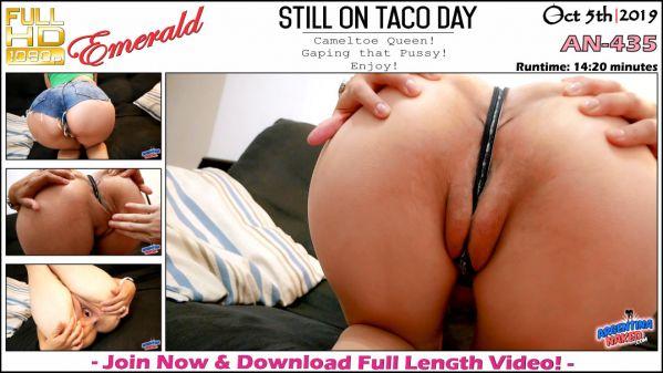 Esmeralda - Still On Taco Day - AN-435 (05.10.2019) [FullHD 1080p] (Argentinanaked)