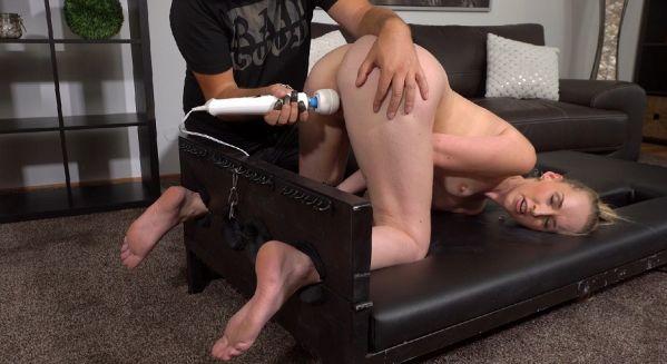 Ticklish Orgasm For Blonde