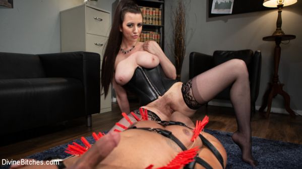 DivineBitches - Cherry Torn - Office Boy: Cherry Torn's New Stupid Beefy Boy Toy (08.10.2019) [HD 720p]