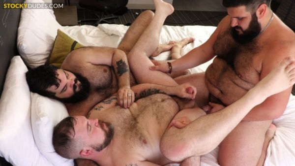 StockyDudes - Benny and The Cubs - Benny The Pooh, James Duke, Skylar Cole