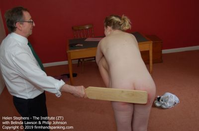 FirmHandSpanking – Helen Stephens – The Institute – ZT