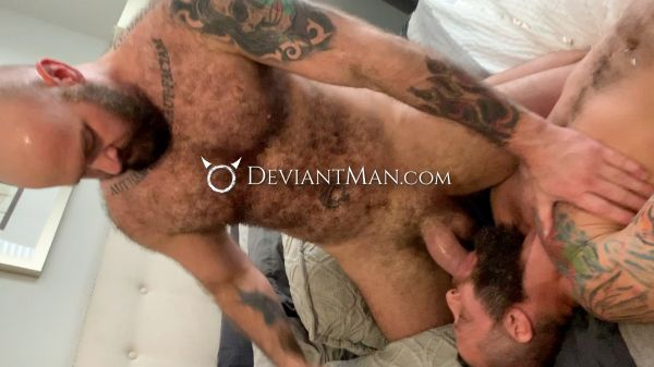 DM - Daddys Muscle and Fur Thick Deep Breeding - Luke Harrington & Richard Lionheart