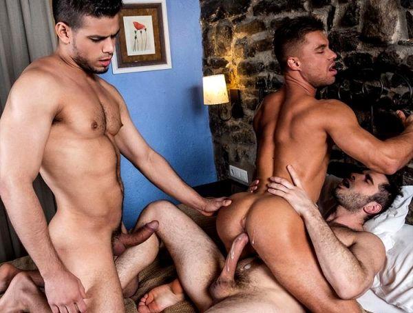 LE - Klim Gromov Rides Michael Lucas And Rico Marlon
