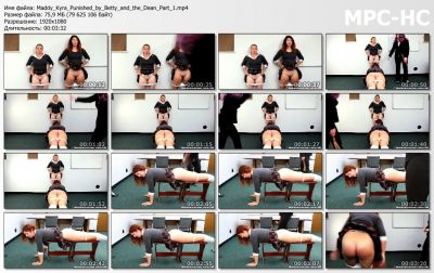 RealSpankingsNetwork - Maddy & Kyra: Punished by Betty and the Dean (Part 1)