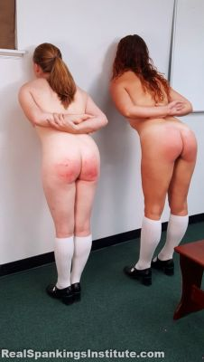 RealSpankingsInstitute - Maddy & Kyra: Punished by Betty and the Dean (Part 2)