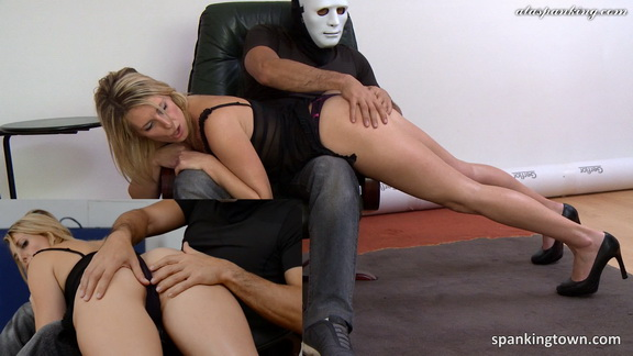Spankingtown – Emma punished in front of her husband