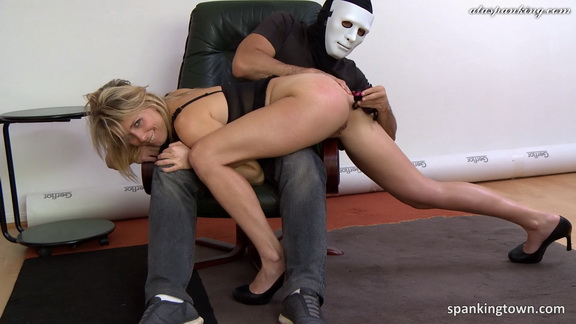 Spankingtown - Emma punished in front of her husband