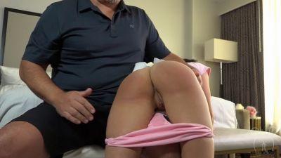 Soaking Wet Panty Spanking - Kiki