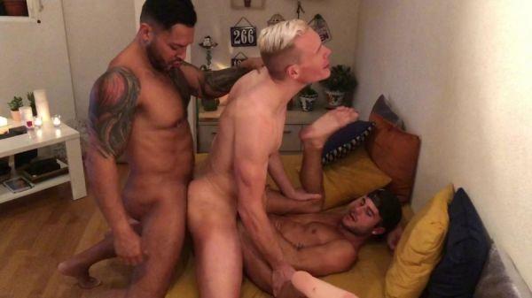 RFC - Viktor Rom, Allen King, Aaron Mark - Threesome in Madrid