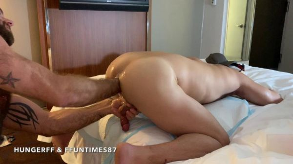 RFC - HungerFF & FFuntimes87 - A Sleazy NYC Hotel Fist Fuck (Part2) Deep Fist Fucking a Hot Little Pig