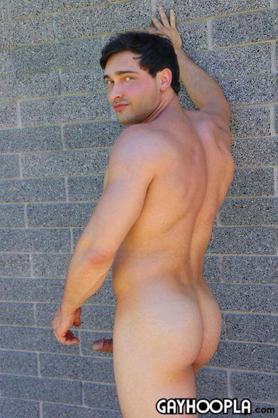 GH - French Muscle Stud Joe Mason Jerks Off