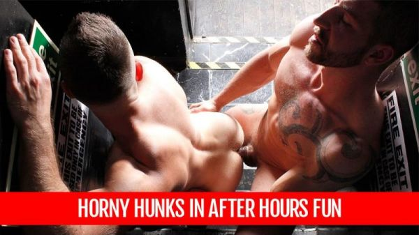 AM - Horny Hunks in After Hours Fun - Jeff Stronger & Yohan Banks
