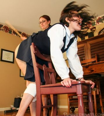 PunishedBrats - Brittany and Audrey - Part 1 - The Principal's Office