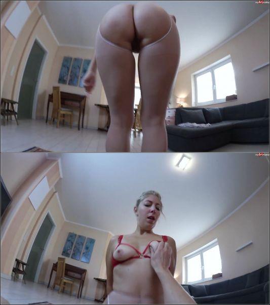 Sarah_Secret - Schnellspritzer! Nylon-Fick-Ritt auf dem 22cm Riesenschwanz! [FullHD 1080p] (MDH)