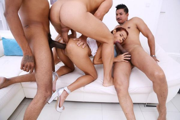 Veronica Leal - Veronica Leal balls deep fucking 3on1 with DP SZ2297 [HD 720p] (LegalP0rno)