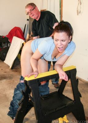 PunishedBrats – Brittany and Audrey – Part 2 – Trip to the Woodshed