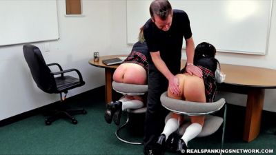 RealSpankingsNetwork – Anastasia and Kiki Punished Tonight Part 2 of 4