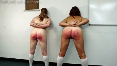 RealSpankingsInstitute – Maddy & Kyra: Punished by Betty and the Dean (Part 4)