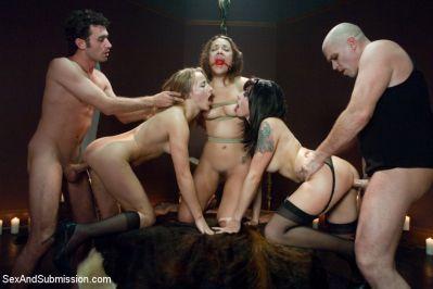 SexAndSubmission - October 29, 2010 - James Deen, Kristina Rose, Mark Davis