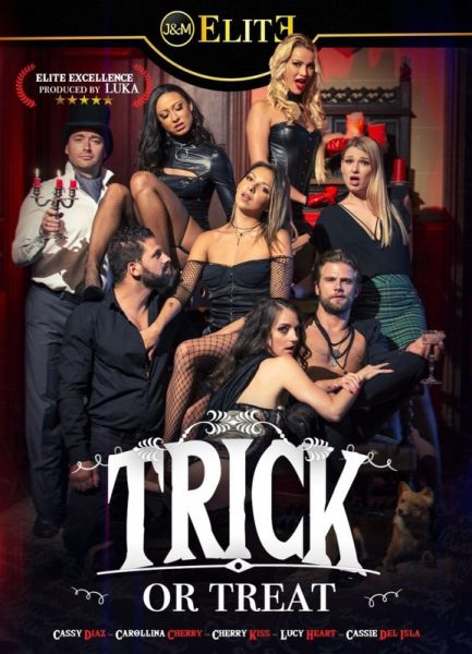 JacquieetMichelElite: Cherry Kiss, Cassie Del Isla, Carolina Cherry, Cassy Diaz, Lucy Heart - Trick or Treat (2019) (HD/720p)