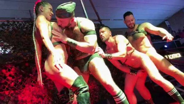 RFC - Viktor Rom, FFurryStud - Sex Show at Salon Erotico Barcelona