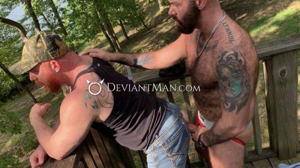 DM - Luke Harrington & Richard Lionheart - Daddy's Muscle & Fur Thick Deep Breeding
