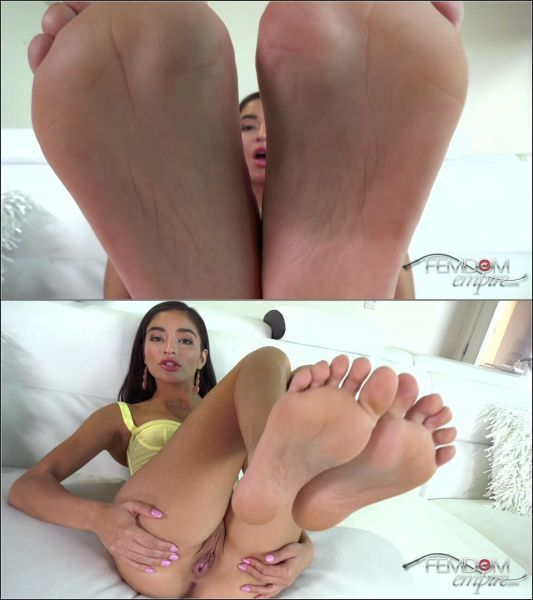 FemdomEmpire - Emily Willis - My Filthy Foot Slut (24.10.2019) [FullHD 1080p]