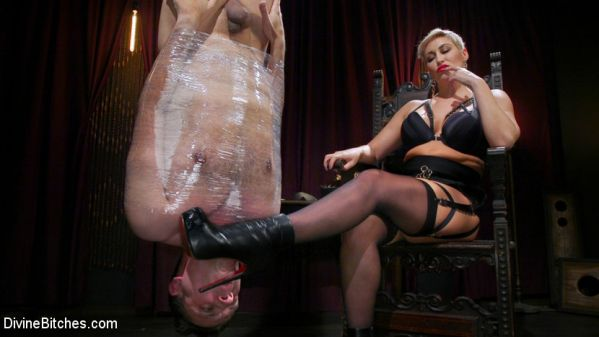 DivineBitches - Ryan Keely - The Goddess and The Novice: Ryan Keely Rules Over Papa Georgio (22.10.2019) [HD 720p]